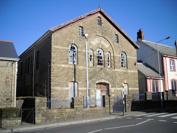 The Churches of Britain and Ireland - Caerau