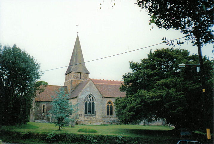 The churches of britain and ireland hampshire breamore st mary christopher skottowe 1965 link brockenhurst dedicated to st nicholas su 305 018 barbara barklem sciox Gallery