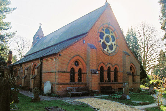 The Churches of Britain and Ireland - Hampshire