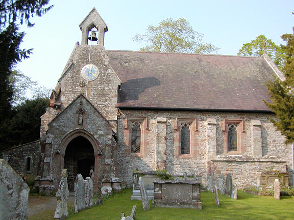 The Churches Of Britain And Ireland Herefordshire