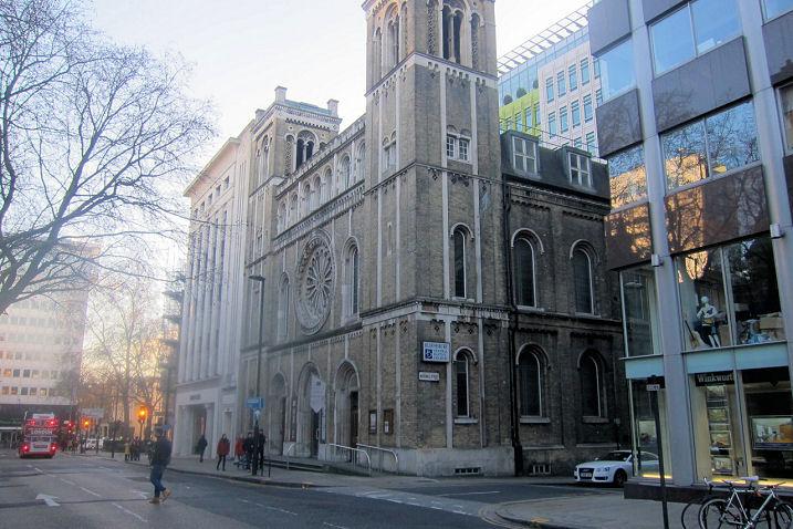Central baptist church london