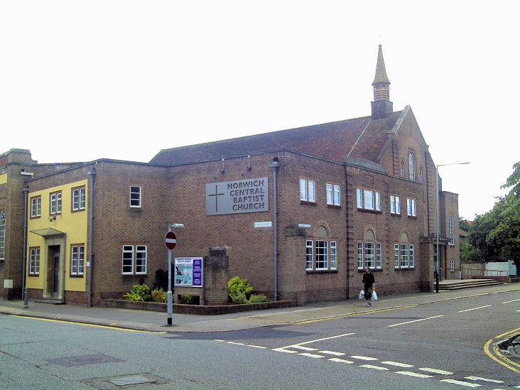 Norwich central baptist church