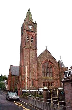 The Churches of Britain and Ireland - Blairgowrie