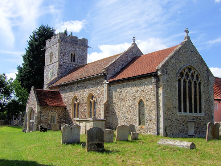 The Churches Of Britain And Ireland Suffolk