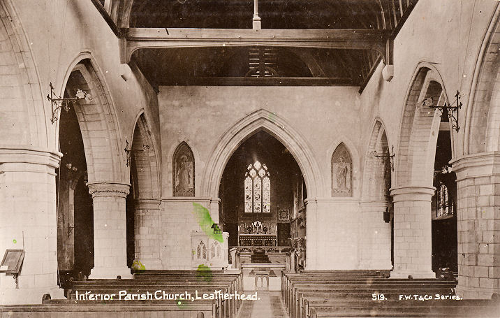 The Churches Of Britain And Ireland Leatherhead