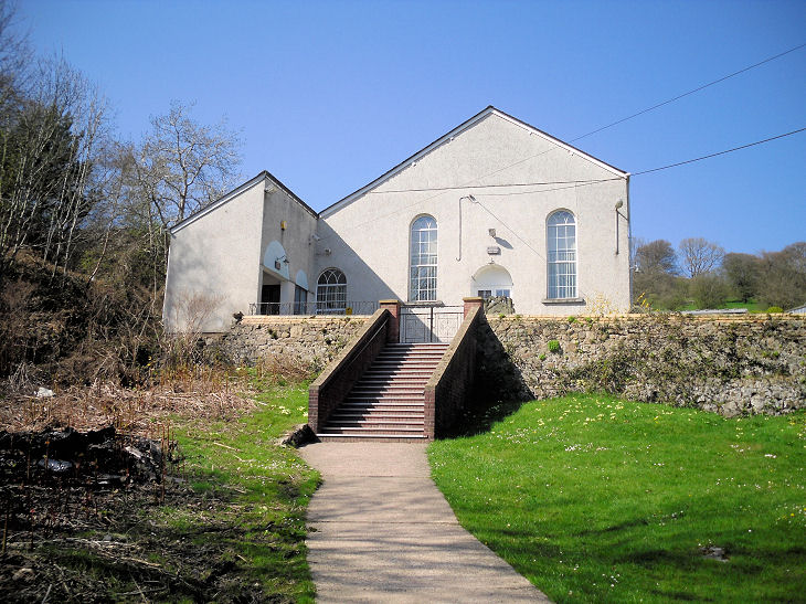 Siloam Baptist Church, also at Upper Cwmbran. © Gerard Charmley (2010).